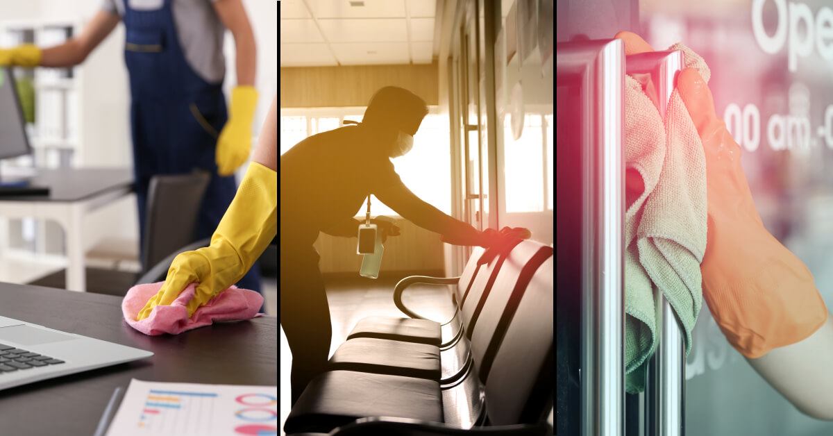 Learn More about our Commercial Sanitizing & Disinfecting Services